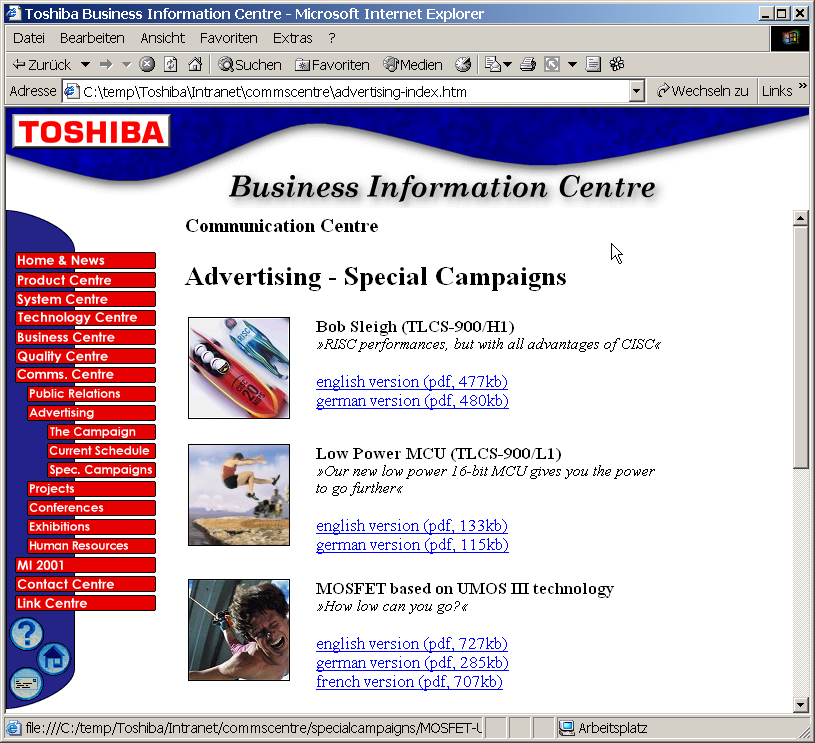 ToshibaIntranet